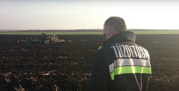 Fatal Accident: Small Plane Crashed into Hungarian Field post's picture