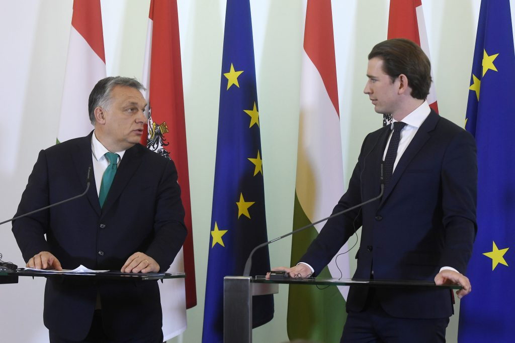 PM Orbán to Hold Talks with Chancellor Kurz in Vienna post's picture