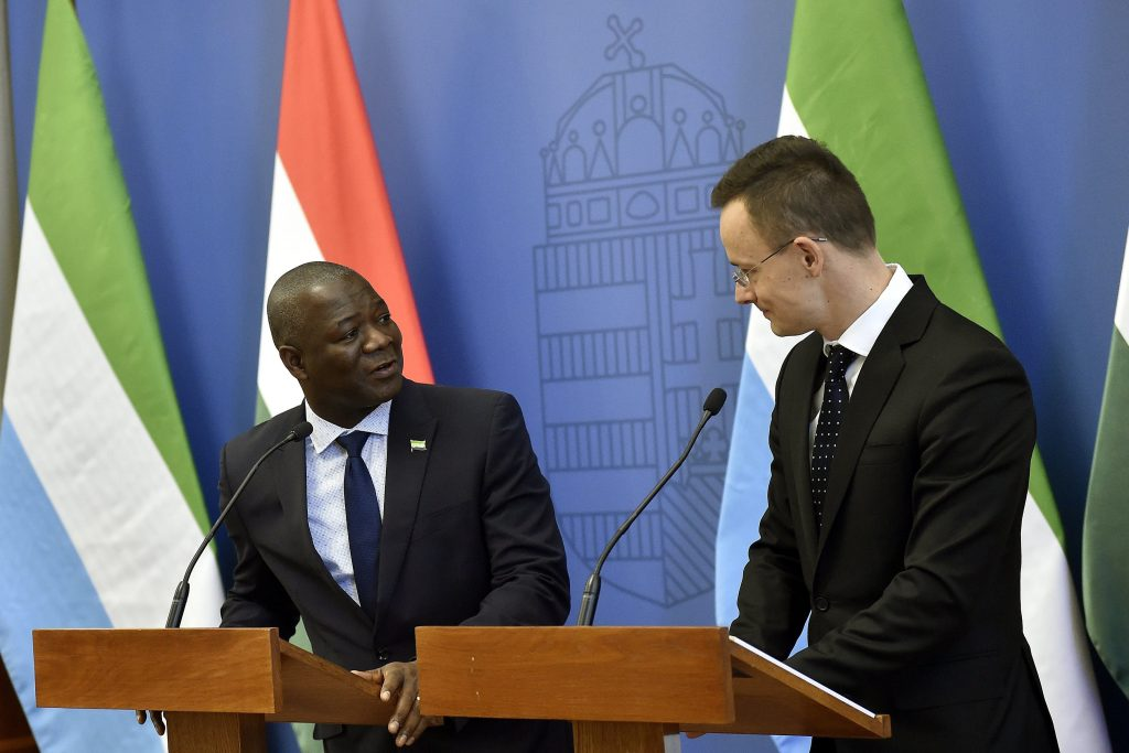 Sierra Leone's Foreign Minister to Pay Official Visit to Hungary post's picture