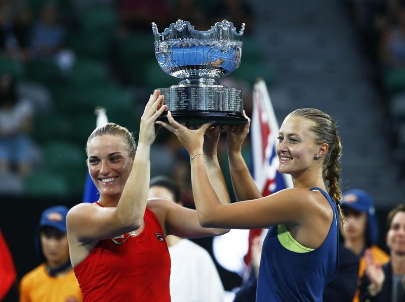 BREAKING: Hungary's Timea Babos Wins Women's Doubles Final at the Australian Open post's picture