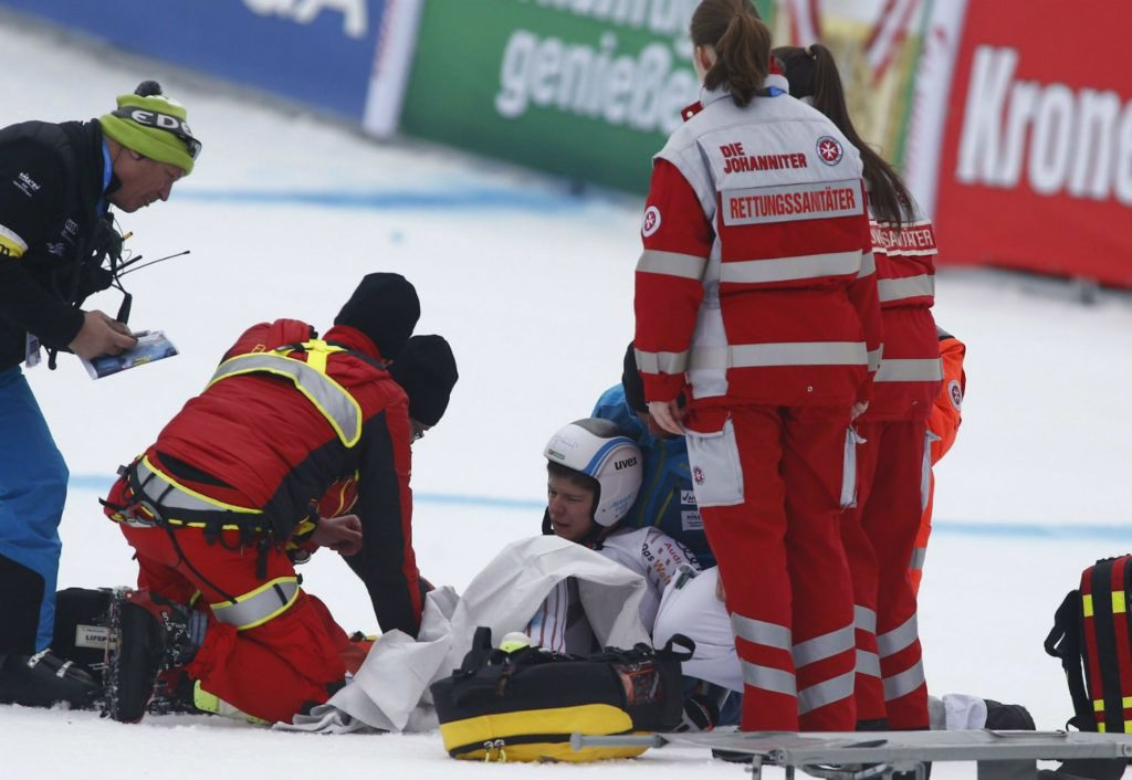 "Hungarian Skier Edit Miklós On Her Latest Injury: ""Staying Positive is Difficult"" post's picture"