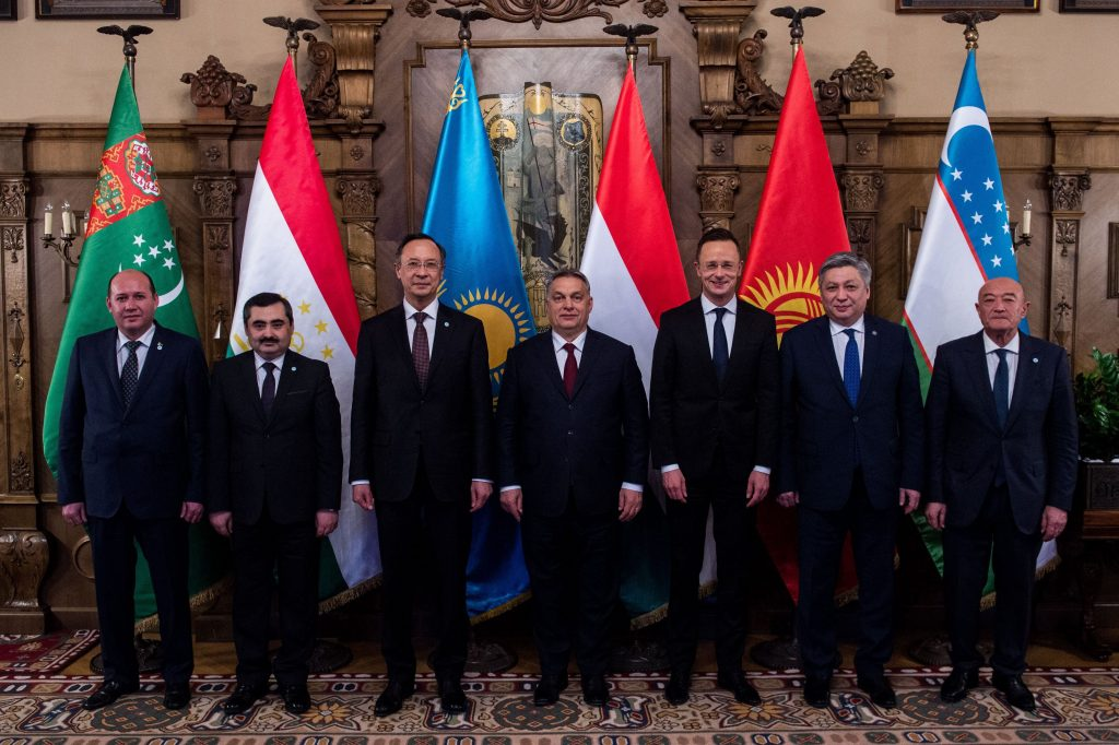 Central Asian Leaders Discuss Closer Cooperation with Hungary at Talks in Budapest post's picture