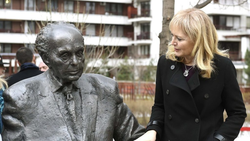 Statue of Tom Lantos, Hungarian-born former US Congressman, Unveiled in Budapest post's picture