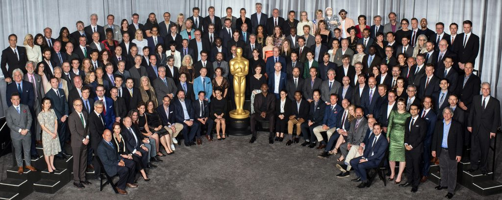 Oscar Class Photo 2018: Ildikó Enyedi, Director of Hungary's Oscar Entry, Seated in the First Row post's picture