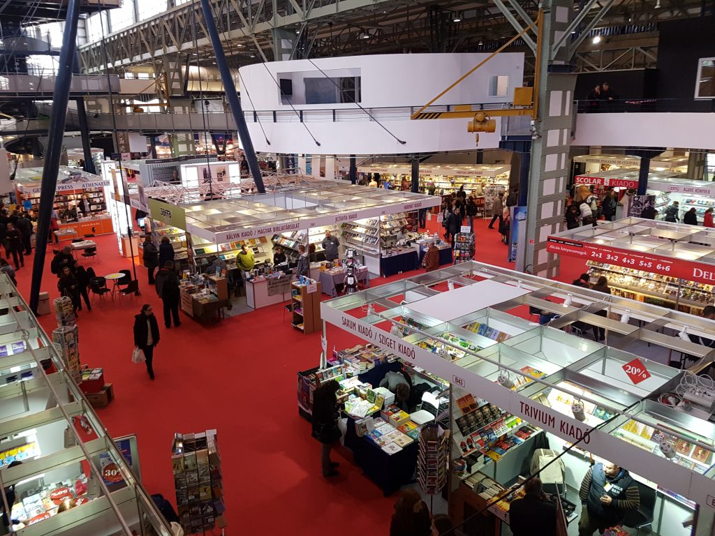 Budapest International Book Fair to Host 160 Exhibitors from 26 Countries post's picture