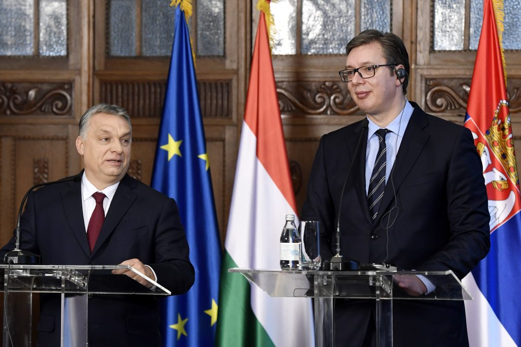 In Subotica, Serbia, PM Orbán and Serbian President Vučić Praise Bilateral Ties post's picture