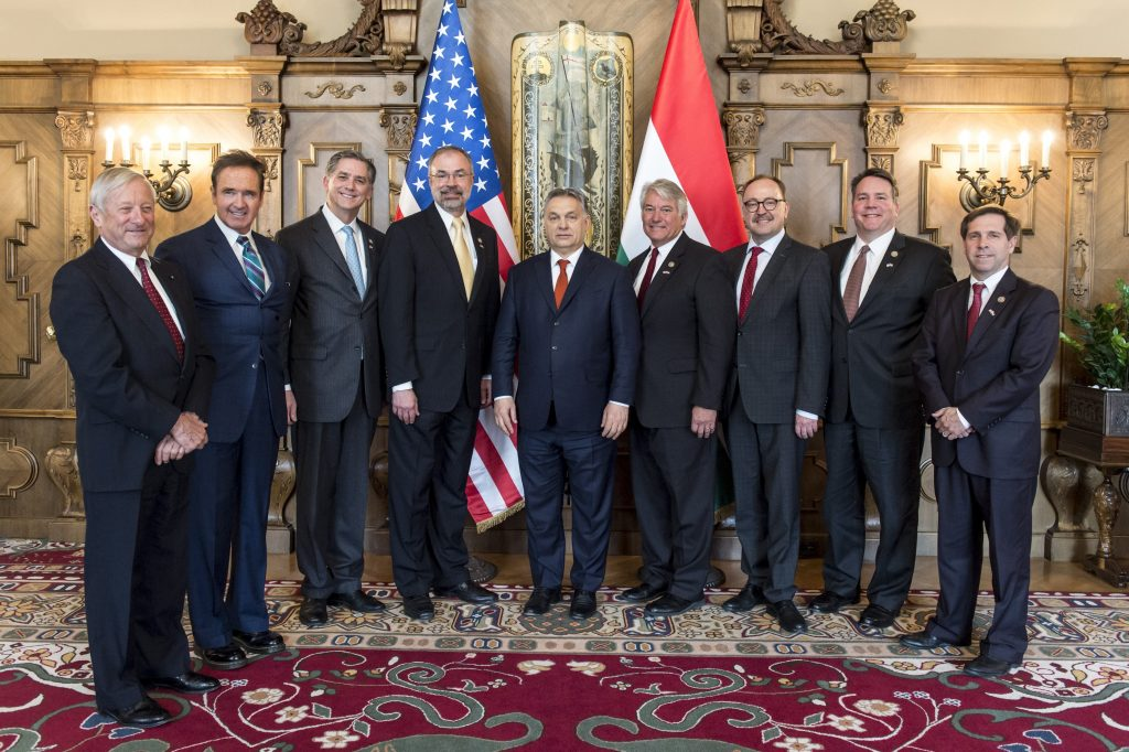 "US Congressmen Visit Budapest, Claim Trump-Orbán Meeting ""Is Only a Matter of Time"" post's picture"