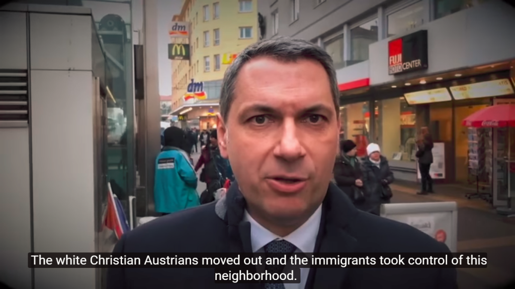 "In Video, Hungarian PMO Chief Claims ""Migrants"" are Pushing ""White Christians"" Out of Vienna, Making the City ""Dirtier"" and ""Poorer"" post's picture"