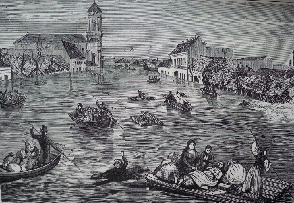 The Great Flood of Pest (1838) post's picture