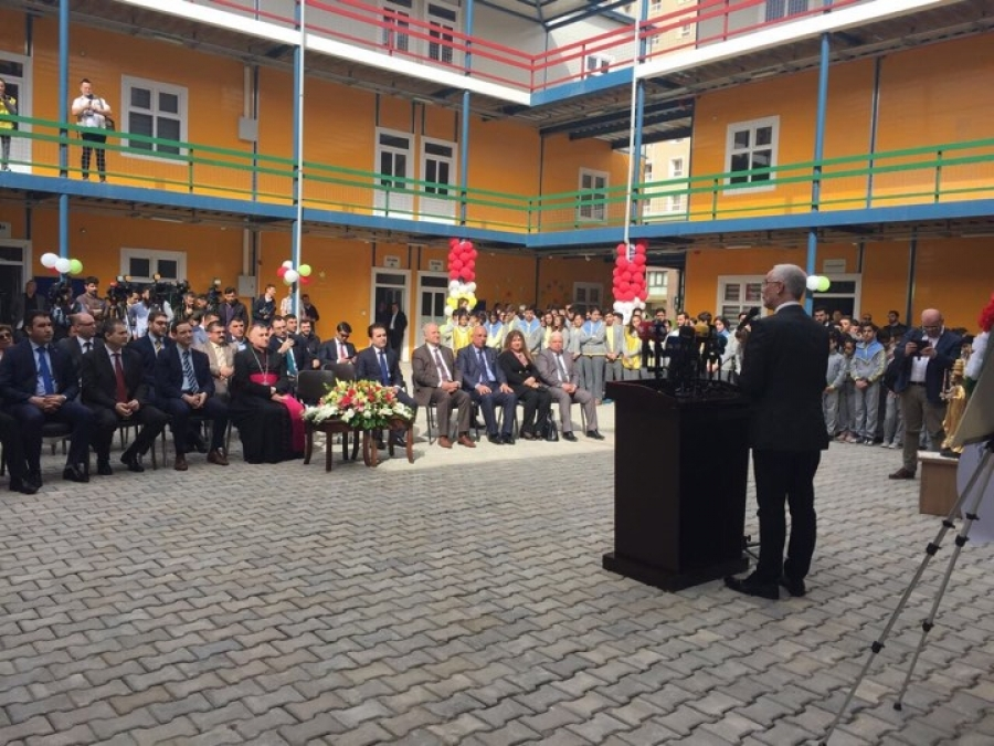 Minister of Human Capacities Opens School and Homes Built with Hungarian Support in Iraq post's picture