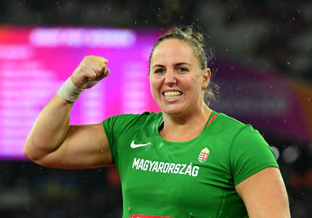 Shot-Putter Anita Márton Wins Hungary's First Ever Athletics World Championship Gold post's picture