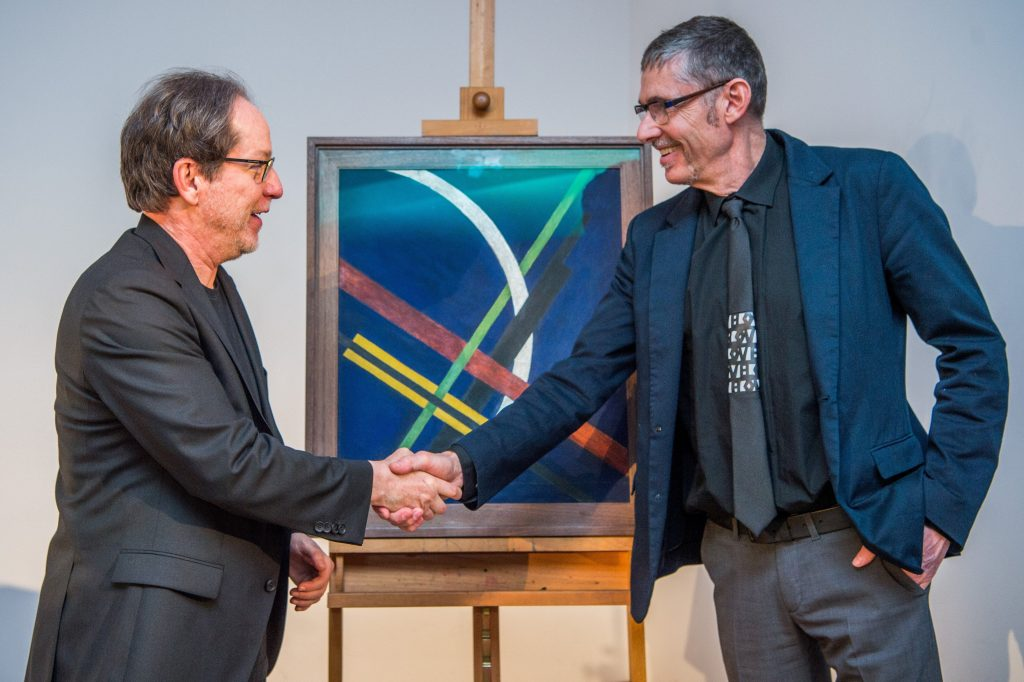 Valuable Moholy-Nagy Painting Donated to the National Gallery post's picture