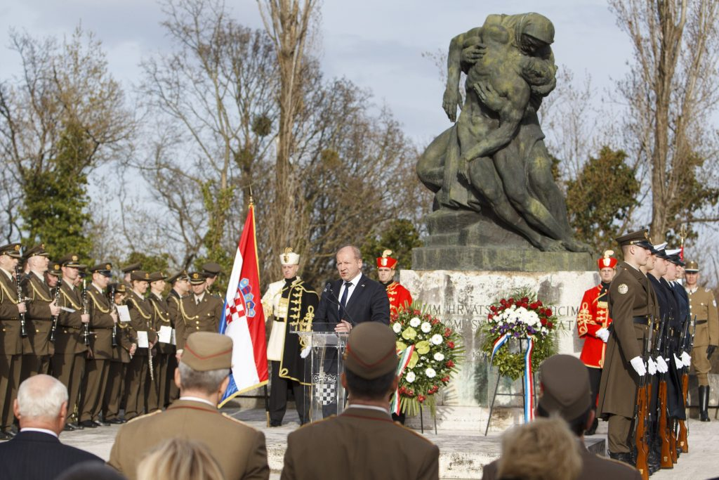 In Zagreb, Croatian and Hungarian Defence Ministers Unveil Plaque post's picture