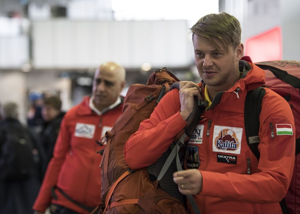 Hungarian Mountaineer Csaba Varga Leaves for Kangchenjunga Expedition to Honor Zsolt Erőss post's picture