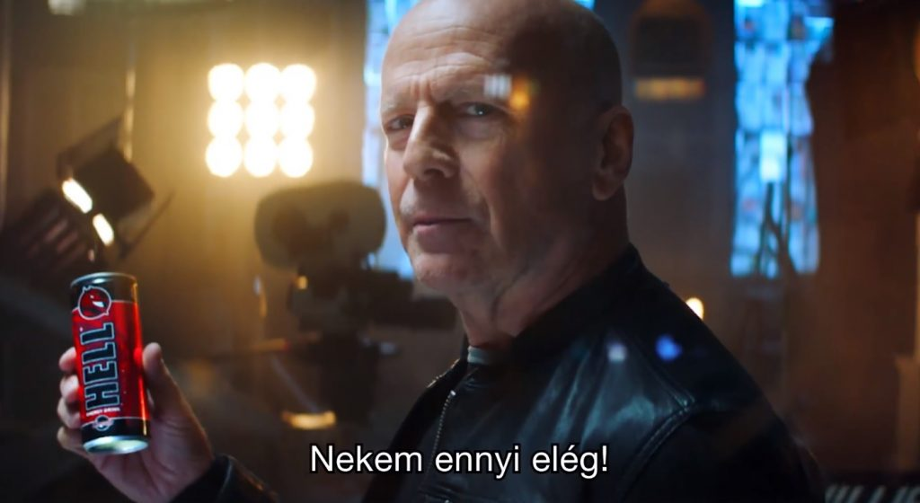 Bruce Willis Stars Hungarian Energy Drink's New Ad post's picture