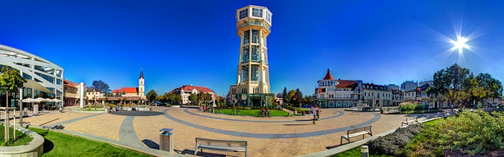 Lake Balaton's Best View: The Siófok Water Tower post's picture