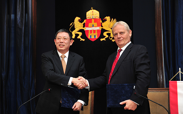 Budapest, Shanghai Friendship Pact Approved post's picture