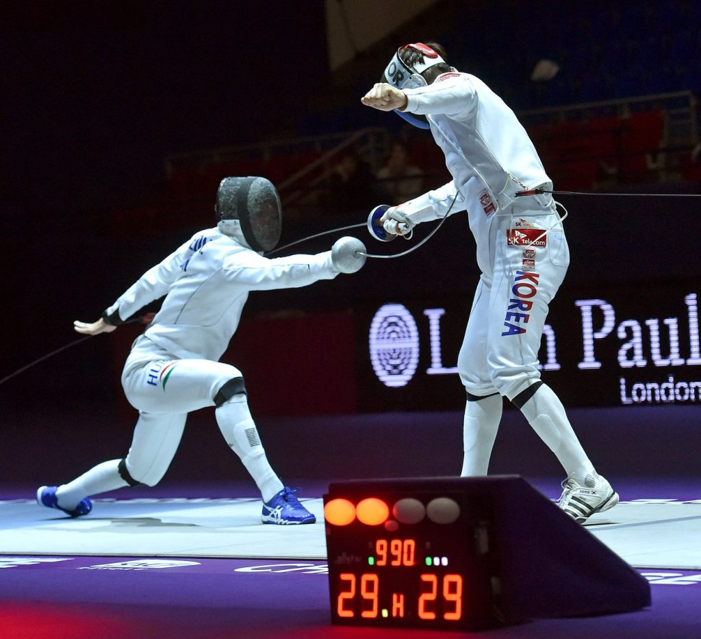 Hungarian Men's Épée Team Wins World Cup in Paris post's picture
