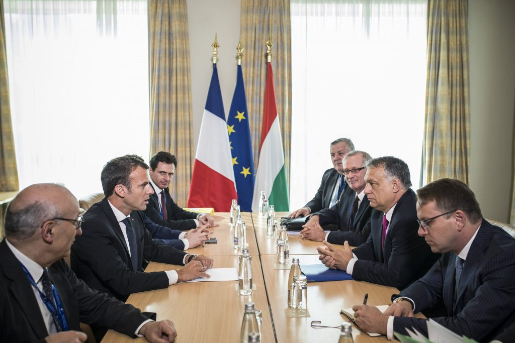 Orbán Holds Talks with Macron in Sofia post's picture
