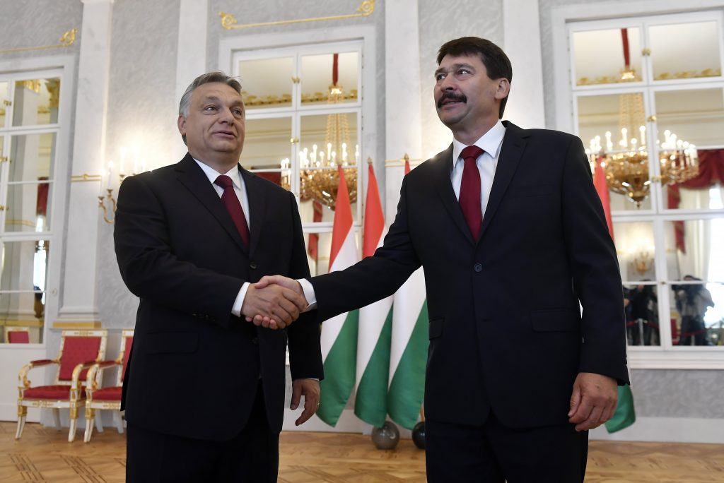 President Áder Officially Asks Orbán to Form New Gov't post's picture