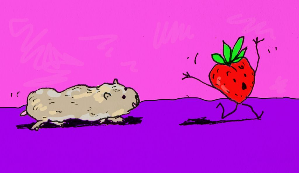 Psychedelic Strawberry? Hungarian Director Releases Animated Music Video for Children's Rock Song post's picture