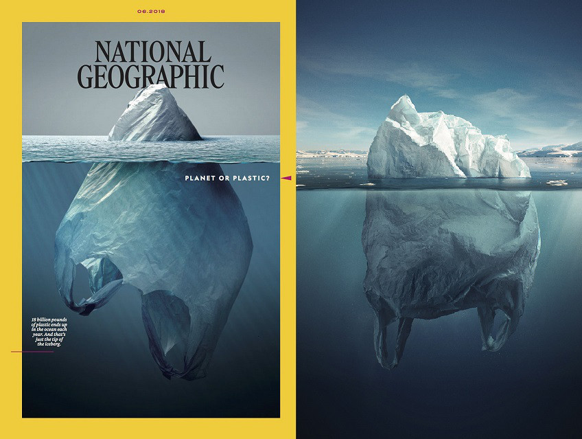 Iceberg Ahead? Hungarian Artist Accuses National Geographic of Plagiarism Over Viral New Cover Photo post's picture