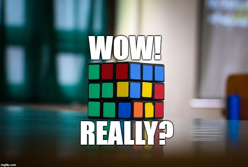 Wow! Really? Australian Breaks World Record, Solves Rubik's Cube in Just 4.22 Seconds! post's picture