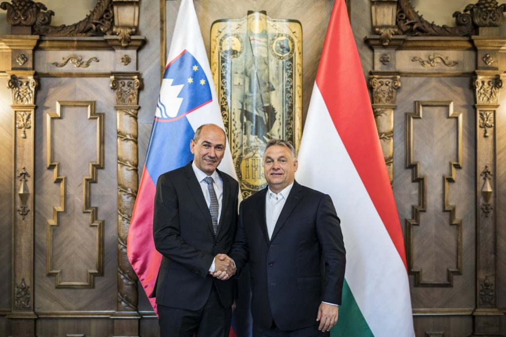 Orbán Meets with Chairman of Slovenian Election Winner SDS post's picture