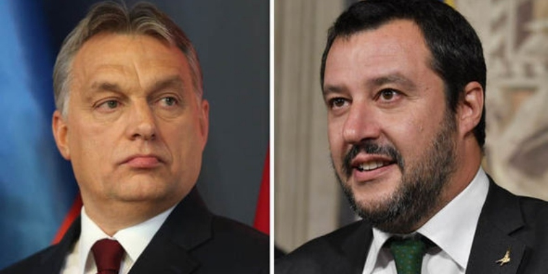 Matteo Salvini and Viktor Orban Axis Alliance has Formed Over the EU Migration Policies post's picture