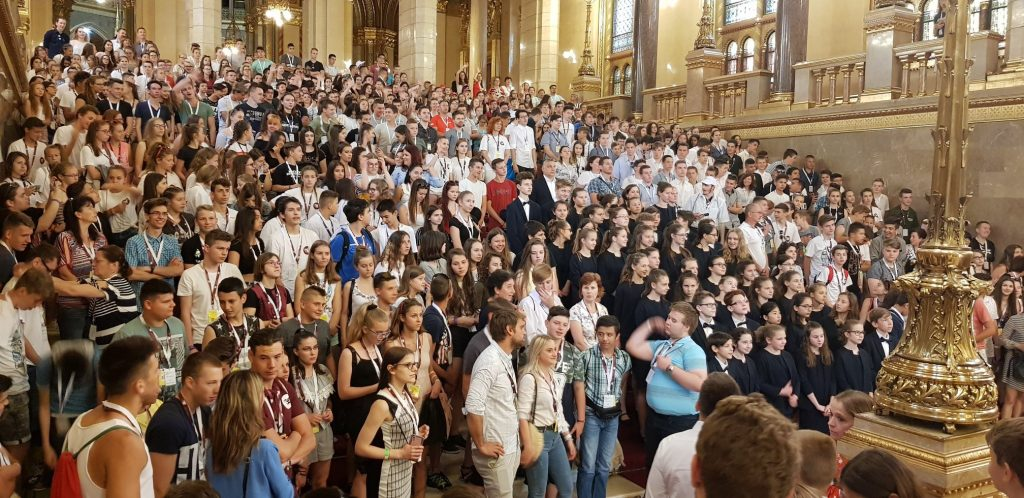 Rákóczi Association: 6,500 Students Traveling Around Carpathian Basin on National Day of Unity post's picture
