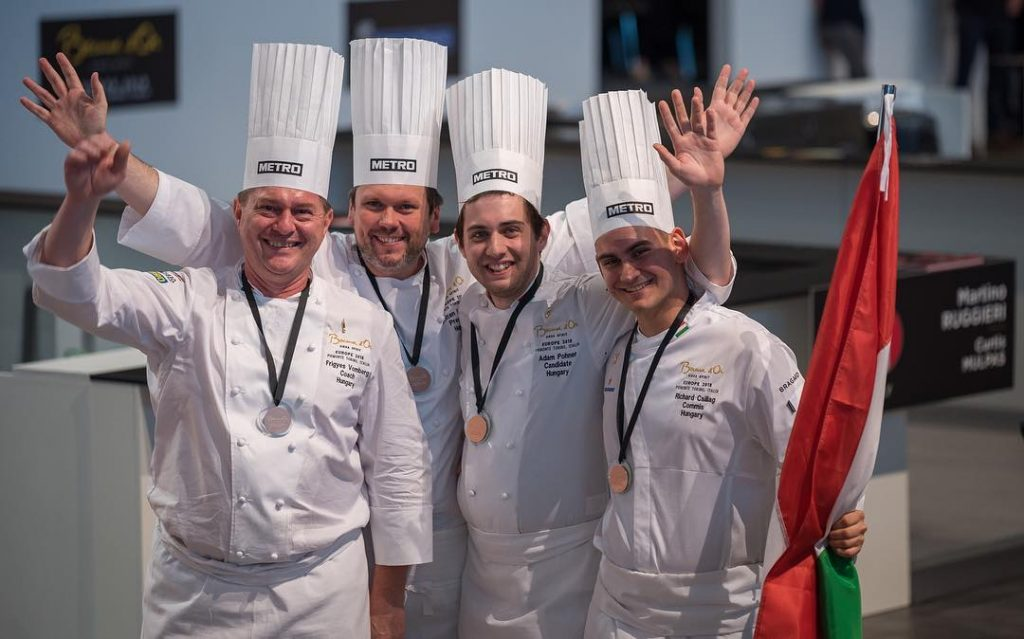 Hungarian Chefs Cook their Way to Success at European Bocuse d'Or, Advance to World Contest post's picture