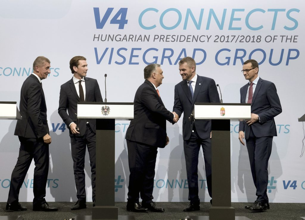 Orbán Highlights EU Border Protection in V4-plus-Austria Summit post's picture