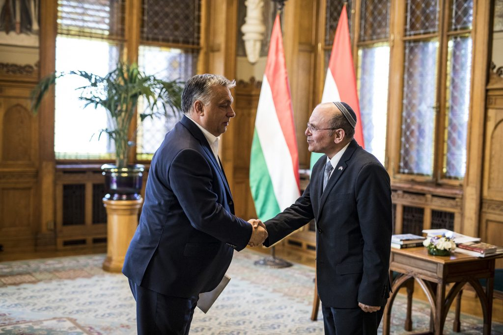 Orbán Meets Israel's National Security Advisor post's picture