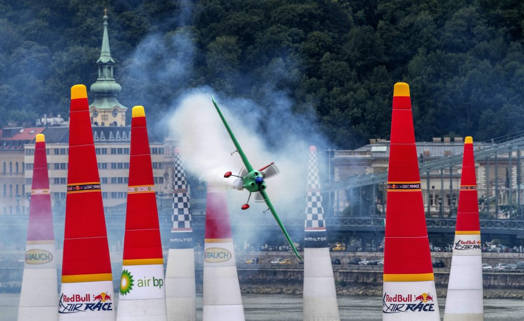 Red Bull Air Race Held in Budapest This Weekend - For What