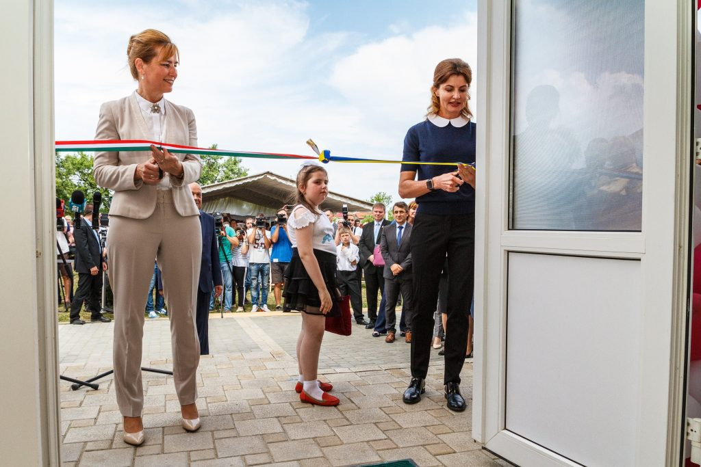 Hungarian and Ukrainian First Ladies Inaugurate Rehabilitation Center at Orphanage in Ukraine post's picture
