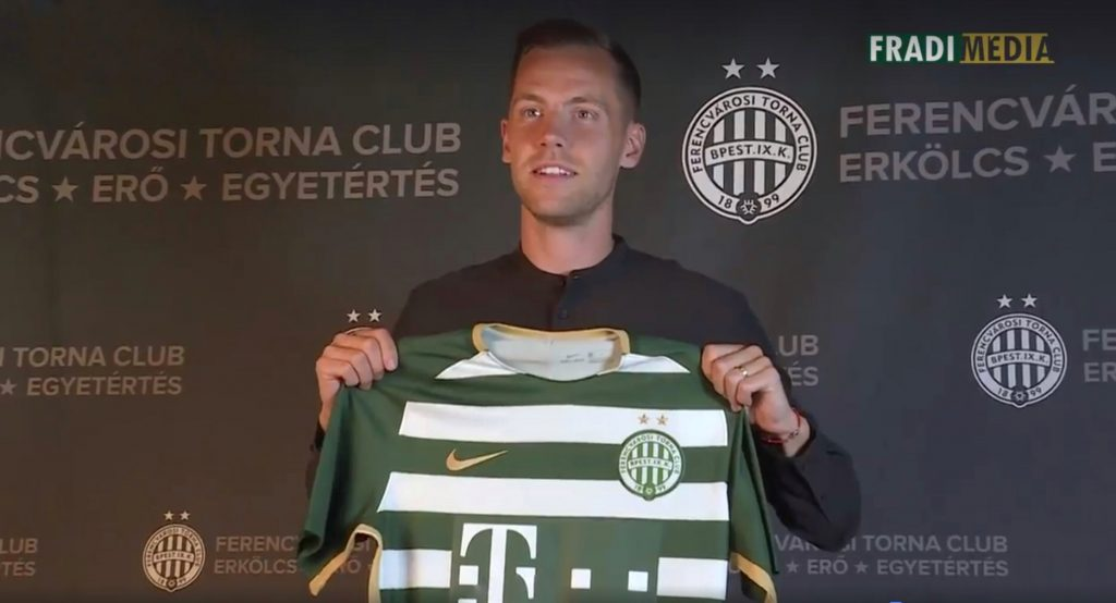 Ferencváros Recruits Icelandic Striker Kjartan Finnbogason post's picture