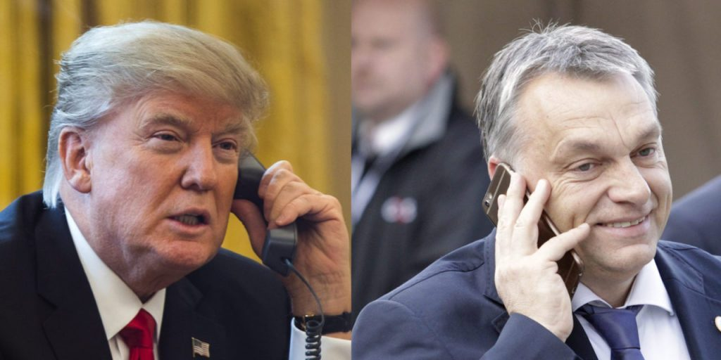 Trump, Orbán Speak on Telephone post's picture