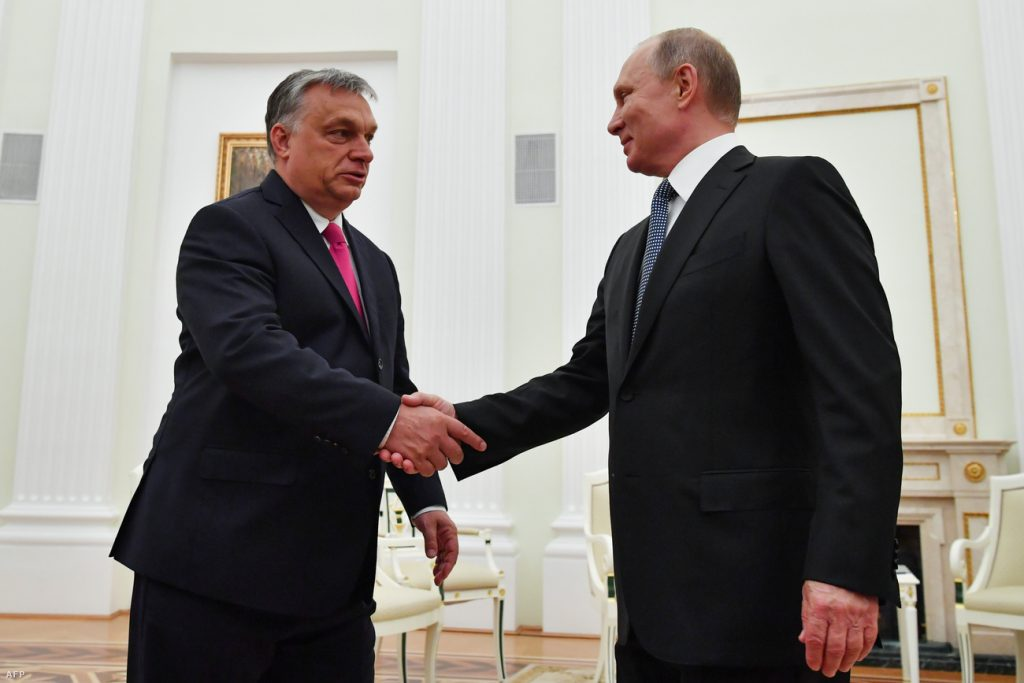 Orbán Holds Talks with Putin post's picture