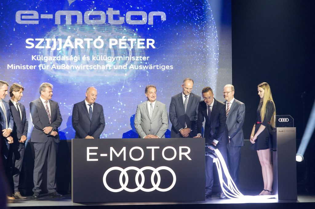 Audi Launches Serial Production of Electric Motors in Hungary post's picture