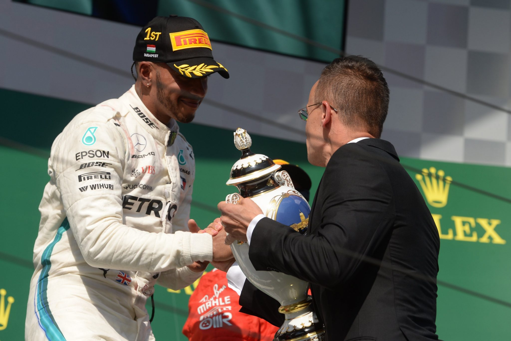 Hamilton Wins F1 Hungarian GP, Developments to Start at Hungaroring Next Year post's picture