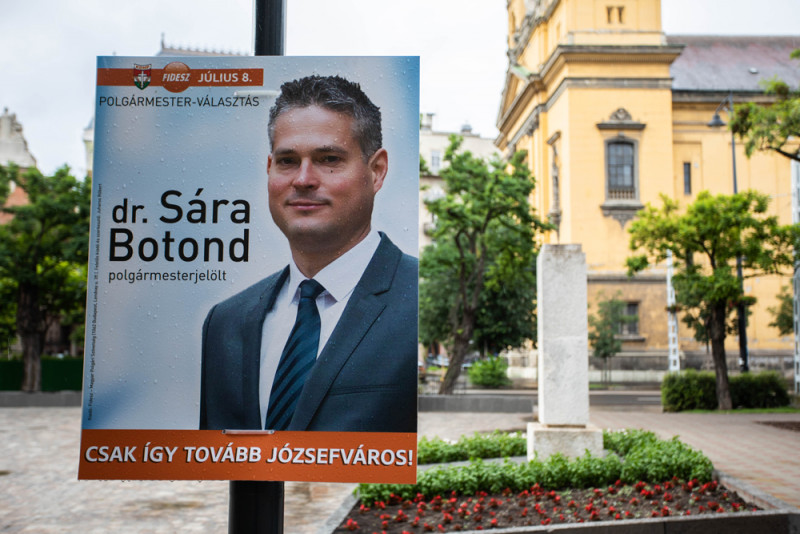 Fidesz's Botond Sára Wins Mayoral By-Election in Budapest's 8th District post's picture