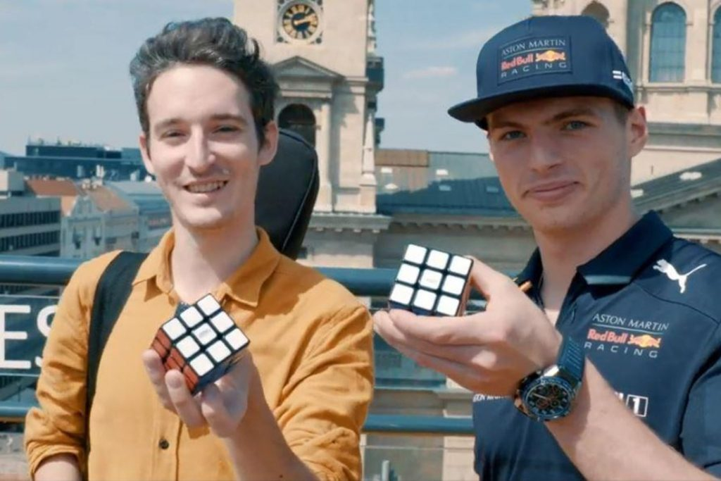 Formula-1 Driver Max Verstappen Solves the Rubik's Cube and Sails Lake Balaton Ahead of Hungarian Grand Prix post's picture