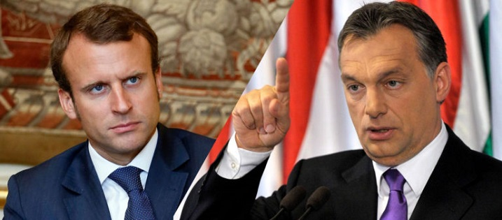 Two Poles in the European Union: Emmanuel Macron and Viktor Orbán post's picture