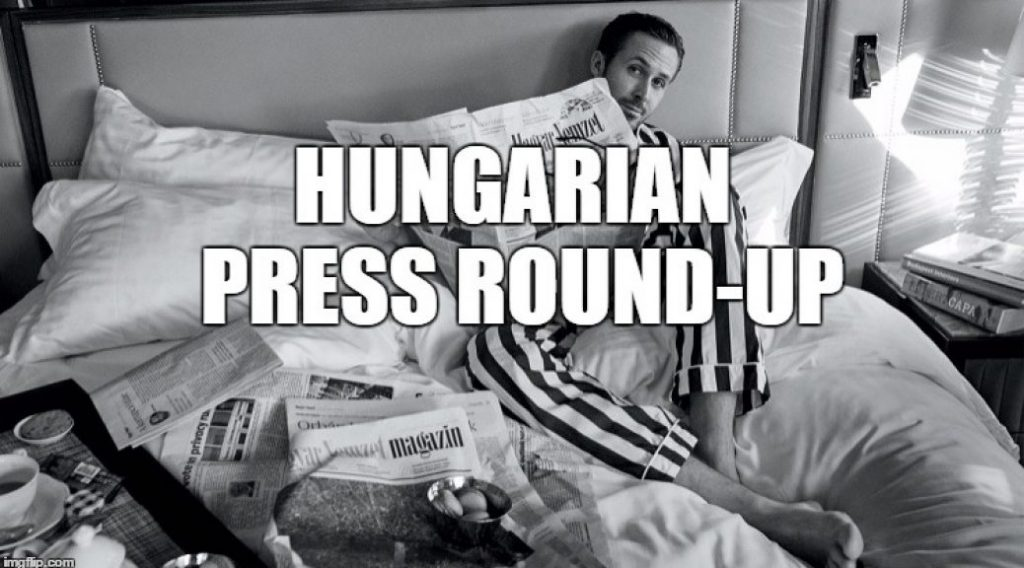 Press Roundup: More on PM Orbán's Strategy Speech post's picture