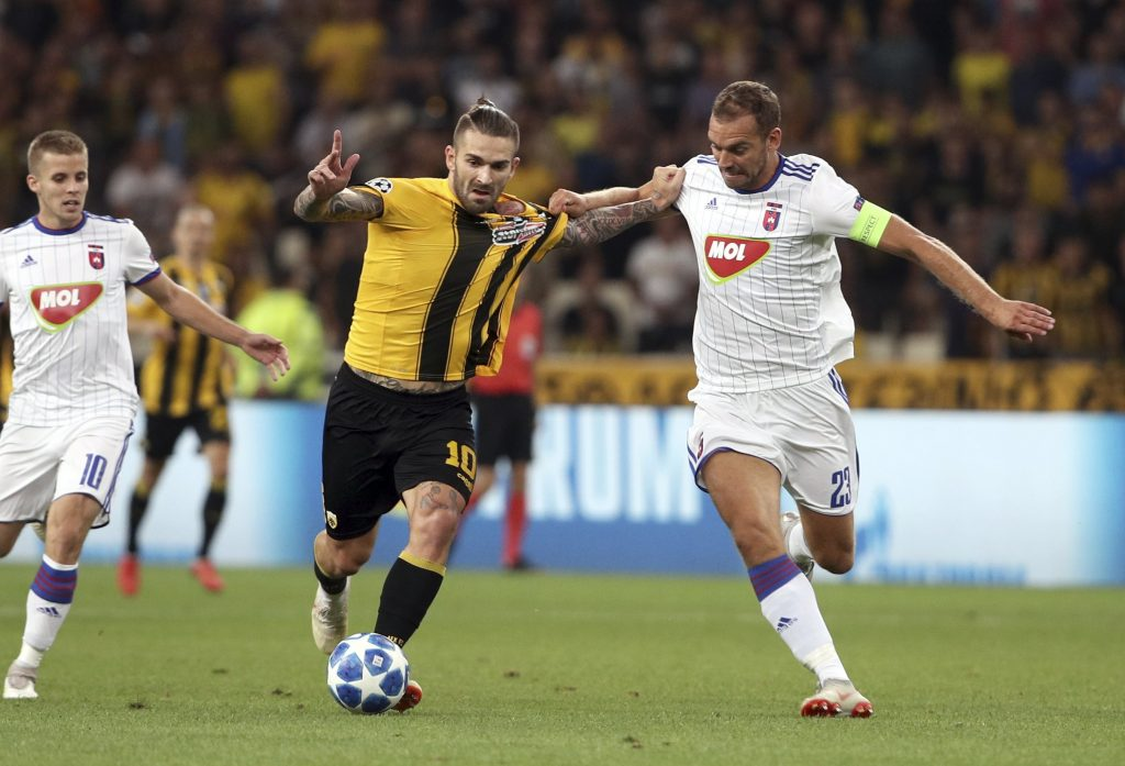 Following a Heroic Battle in Athens, MOL Vidi Continues in the Europa League post's picture