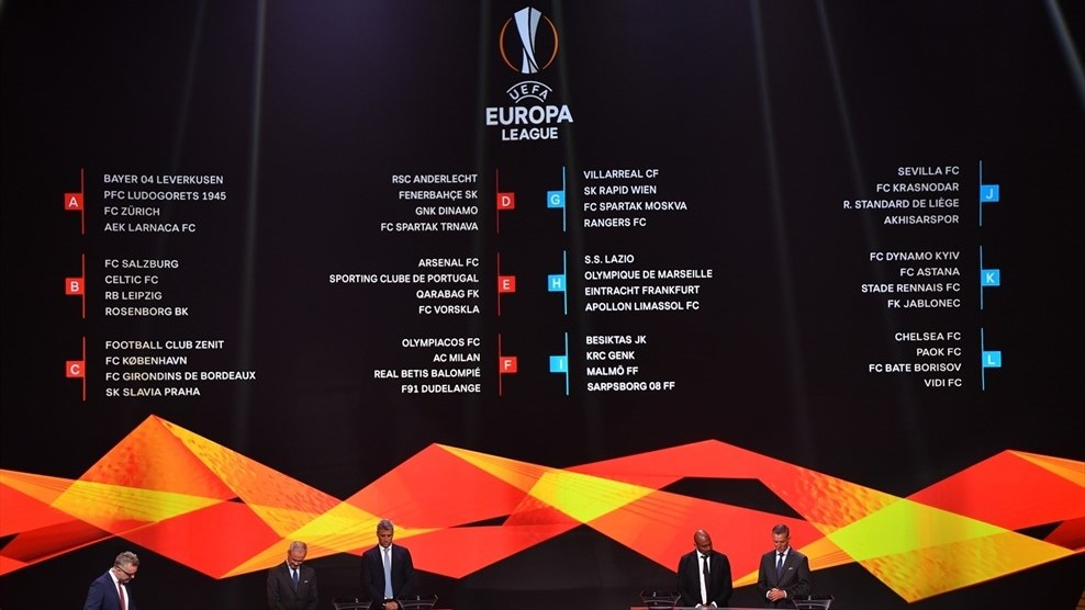 In Europa League, MOL Vidi Draws Top Club Chelsea FC, PAOK and BATE post's picture