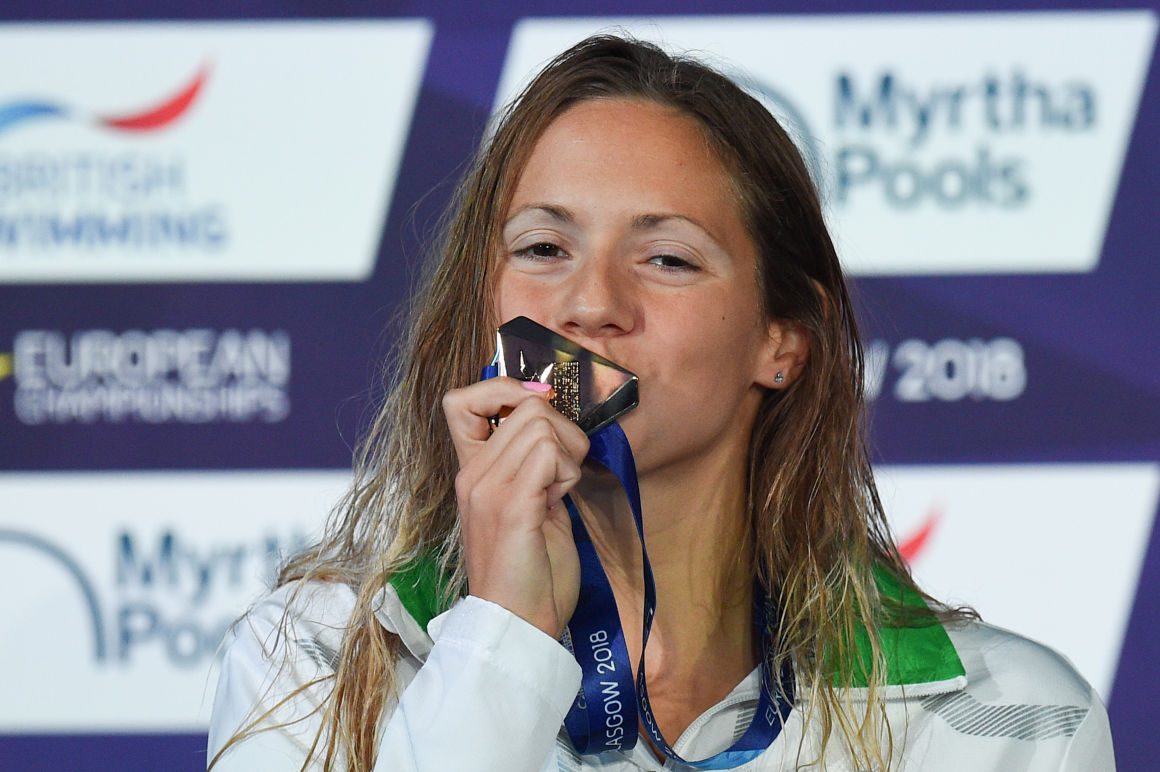 Boglárka Kapás Wins European Championship in 200m Butterfly post's picture