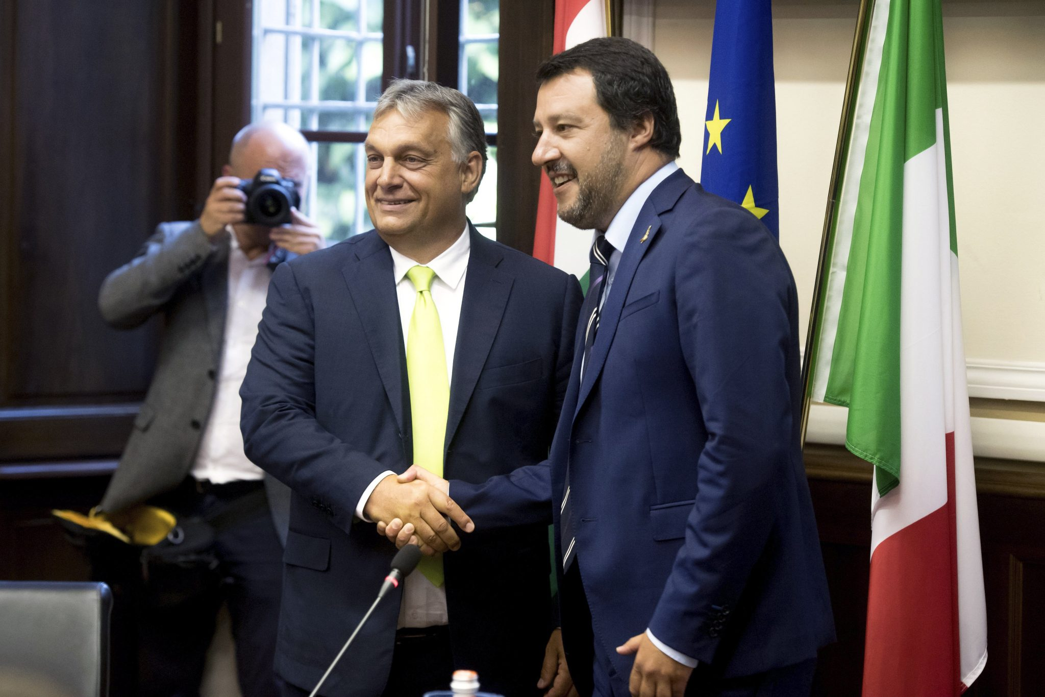 Orbán Praises Italy's Migration Policy post's picture
