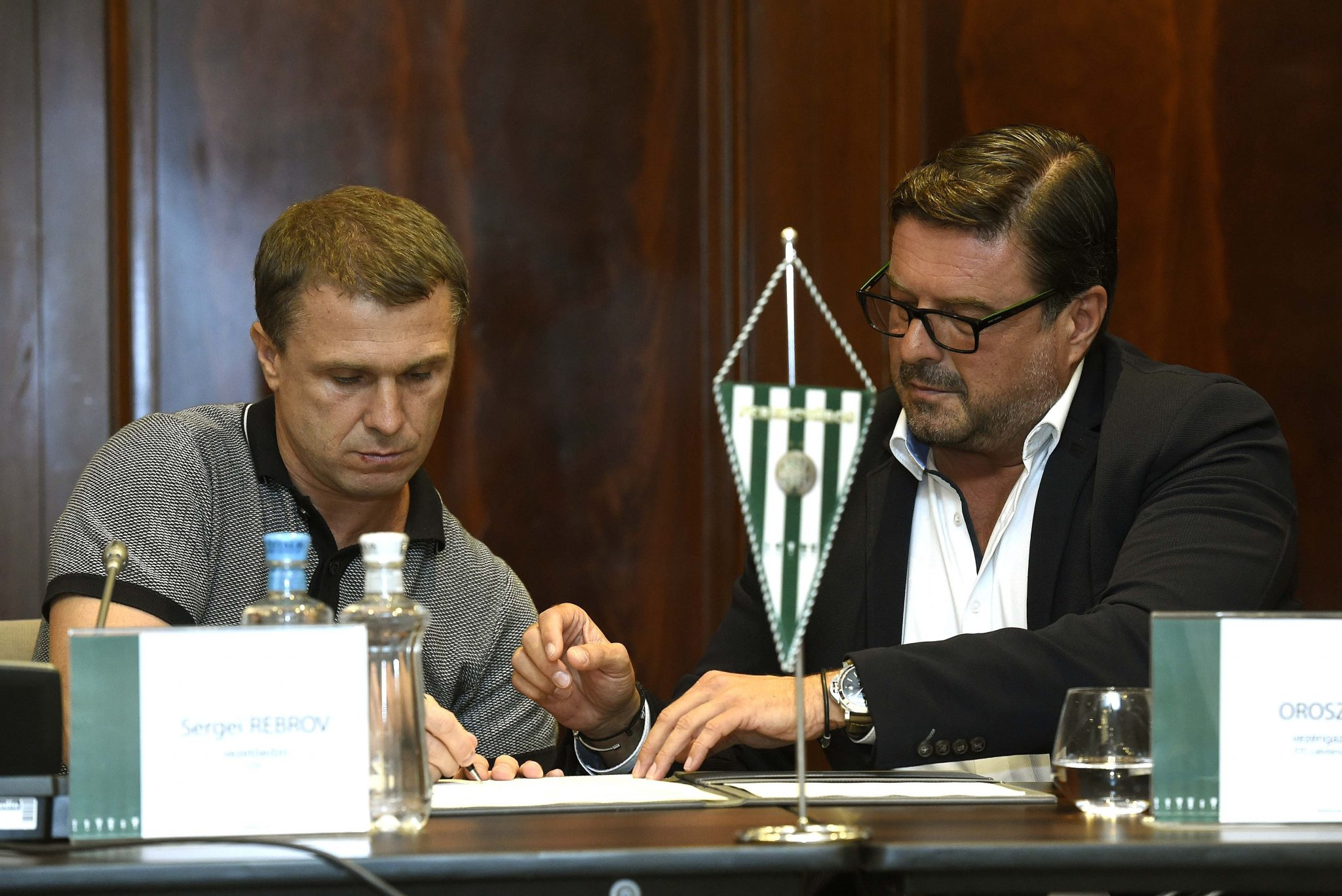 Ukrainian Legend Replaces Doll as Manager of Ferencváros post's picture