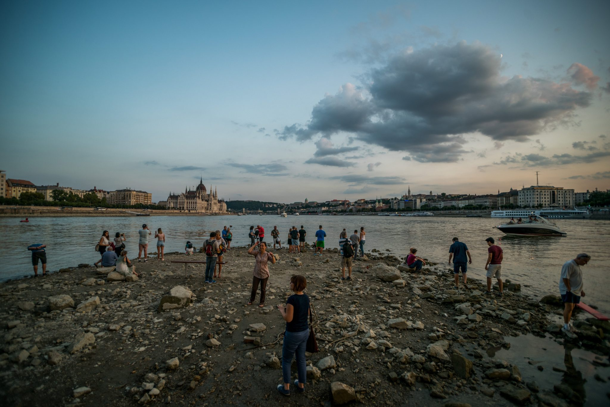 lowest water levels recorded on danube photo album hungary today